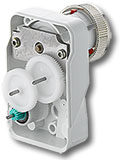 Regulating valve drives
