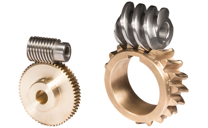 Custom worm gear sets