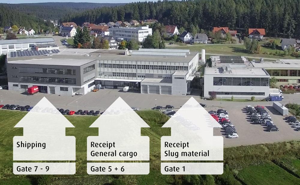 Logistik Versand Wareneingang