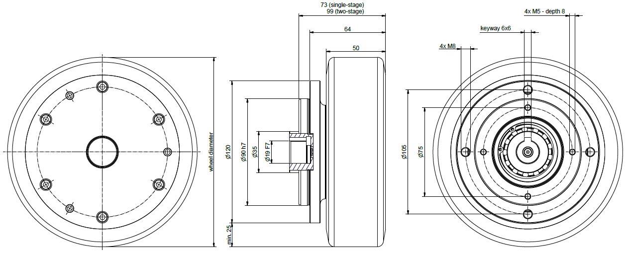 NG500 dimensions