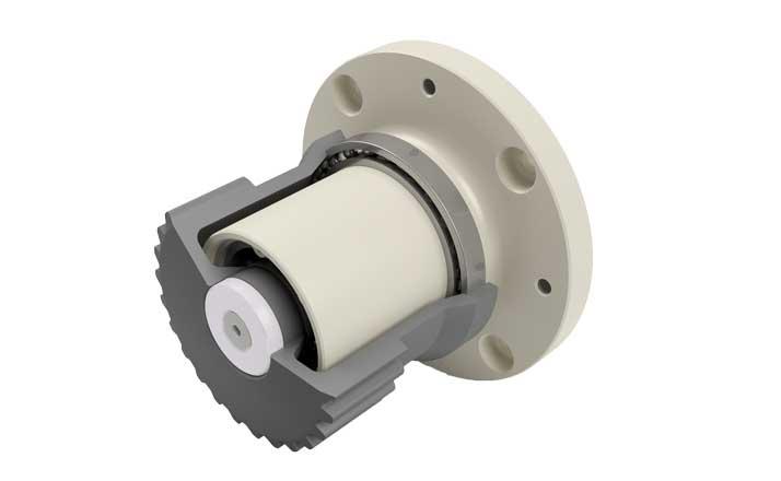 Wheel hub drive NG250 belt version rendering