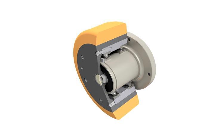 Wheel hub drive NG250 rendering