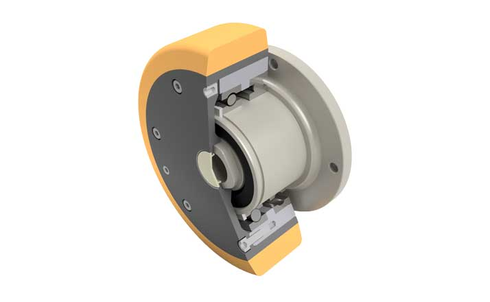 Wheel hub drive NG500 rendering