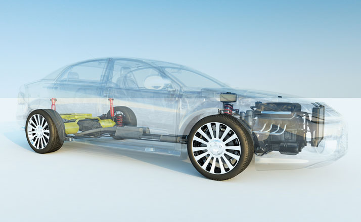 car transparent powertrain